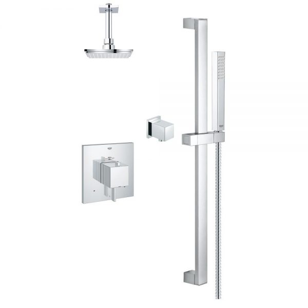 GROHE - Modern Square 2 Way Shower System - Amati Canada Inc