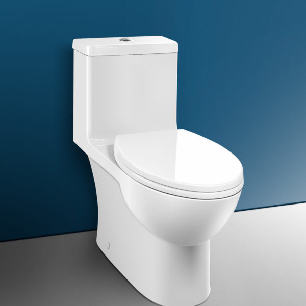 Caroma - Caravelle Smart 270, Elongated front 1 Piece Toilet - Amati ...