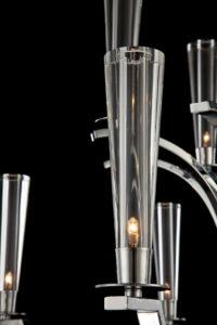 EuroFase - Cromo 25634-013, 9-light chandelier