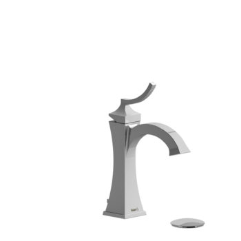 Single Hole Faucet with Push Drain
