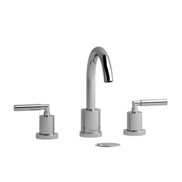 Riobel Sylla - SY08LC - 3 Hole Faucet with Push Drain