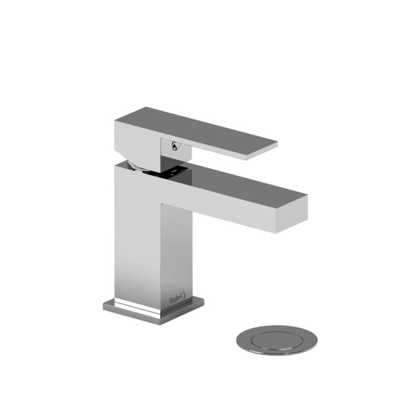 Riobel Kubik – US01C – Lavatory Faucet with Push Drain