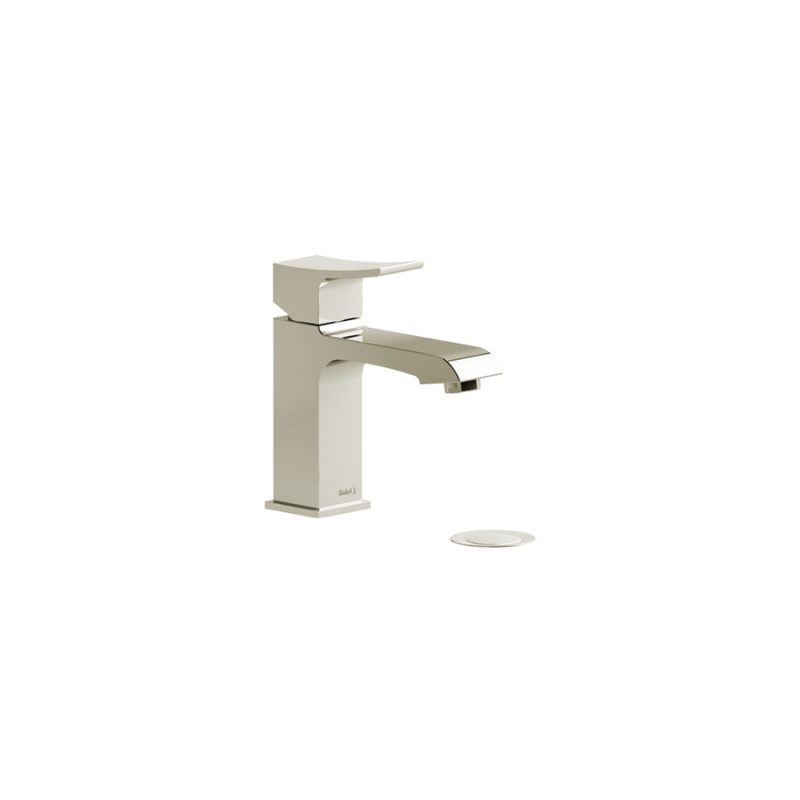 Riobel ZS01PN – Zendo, Faucet with Push Drain, in Polished Nickel