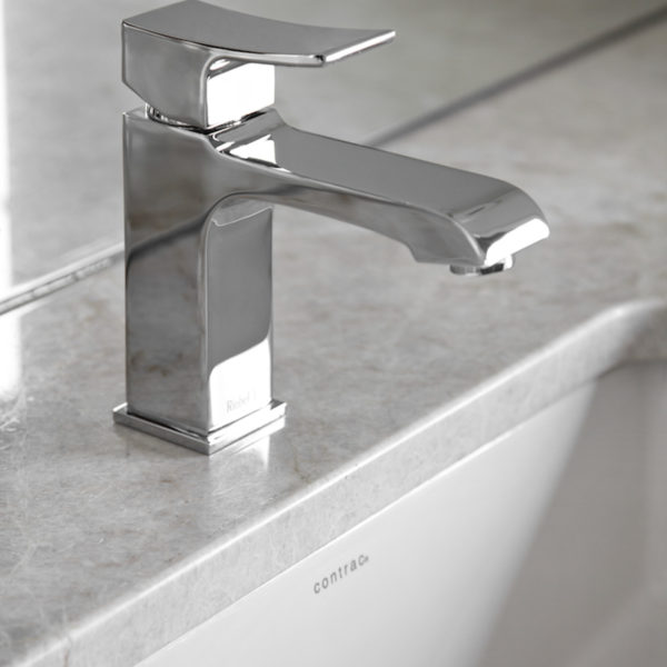 Riobel Zendo - ZS01C - Faucet with Push Drain - Amati Canada Inc