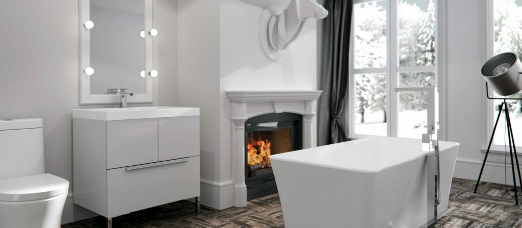 Photo of luxury bathroom