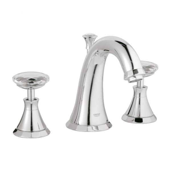GROHE - Kensington Faucet + Swarovski Handles - Amati Canada Inc