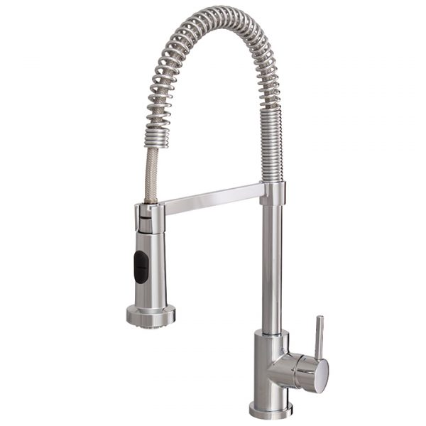 Aquabrass Wizard 30045-PC Pull-Out Kitchen Faucet - Amati Canada
