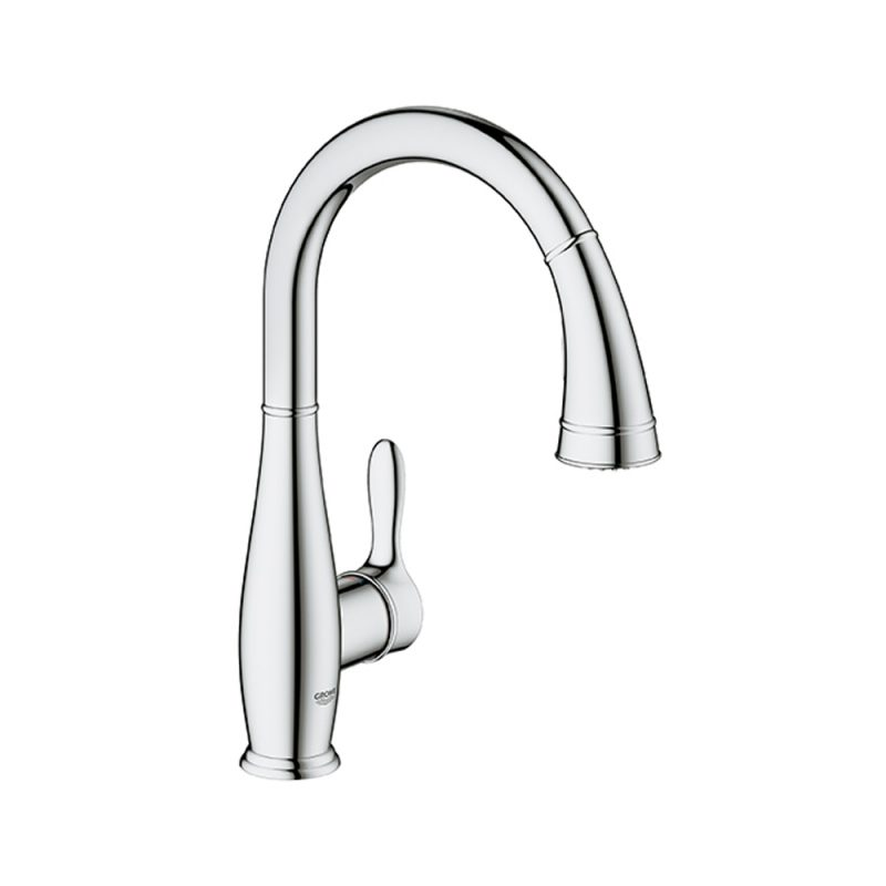 Grohe – Parkfield Pull Down 360 Swivel Area Faucet for Kitchens.