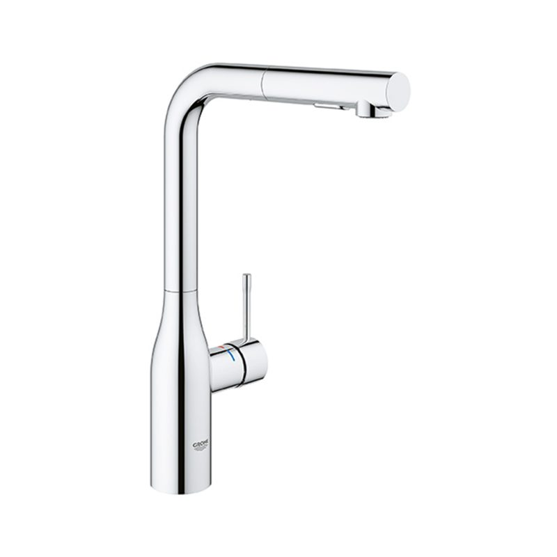 Grohe – Essence High Spout Dual Spray Pull out 360° Swivel Area Faucet, for Kitchen.