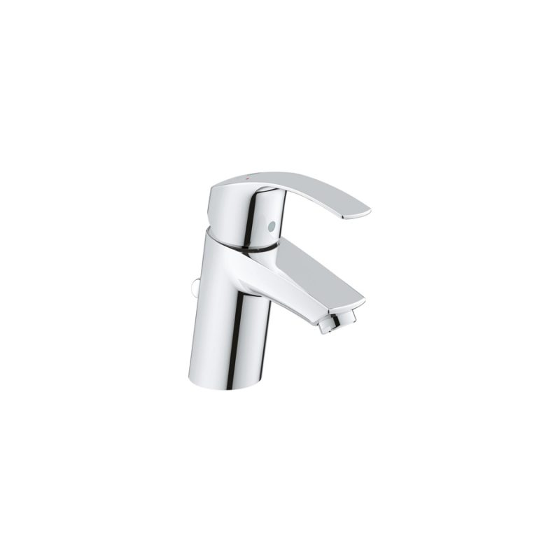 Grohe 3264200A – Eurosmart Lavatory Centreset Faucet with Pop-up Drain