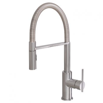 Aquabrass Zest 3845N-PC Pull Down Kitchen Faucet
