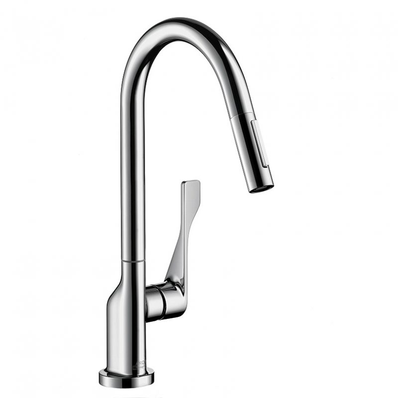 Axor – Citterio Pull Down Kitchen Faucet