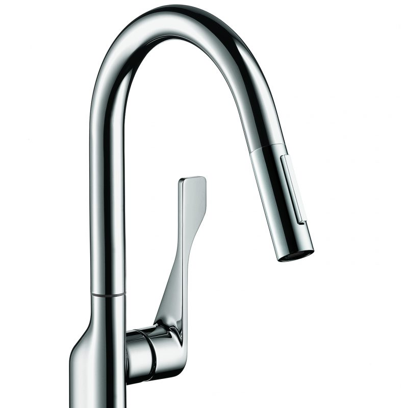 Grohe Elberon Pull Down Faucet With 360 176 Swivel Area