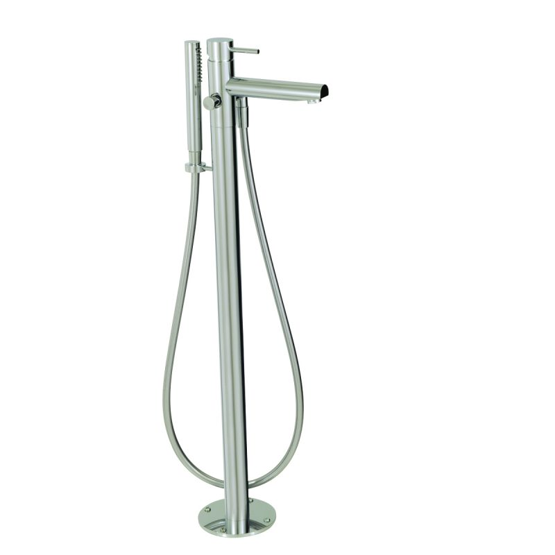 Aquabrass Volare 61084-PC Floormount Tub Filler