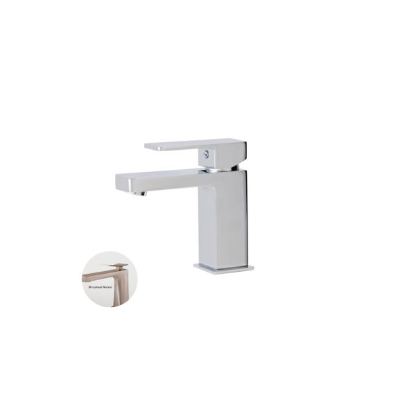 Aquabrass 86014-BN - Madison, Single Hole Faucet, in Brushed Nickel