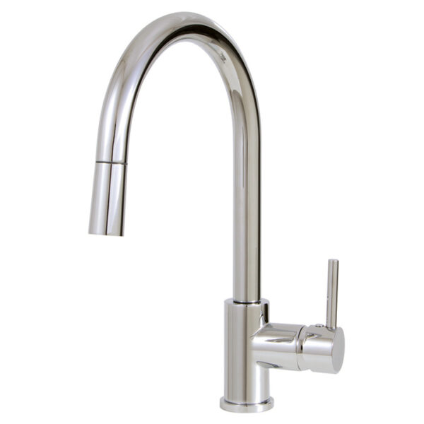 Aquabrass Studio 3345N-PC Pull Down Kitchen Faucet