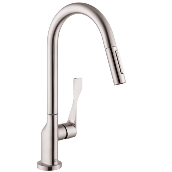 Axor 39835801 - Citterio, Pull Down Kitchen Faucet