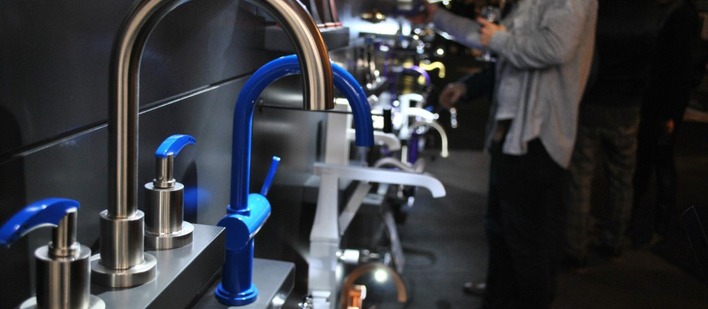 photo of different faucets  interior design show