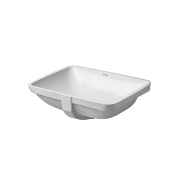 Starck 3 - Vanity basin, UNDERCOUNTER MODEL
