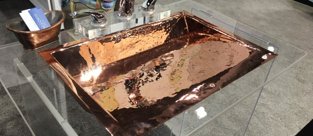 Photo of bronze sink