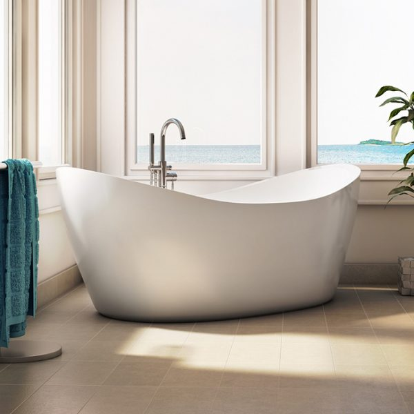 alcove - eidel weiss freestanding bathtub - amati canada inc
