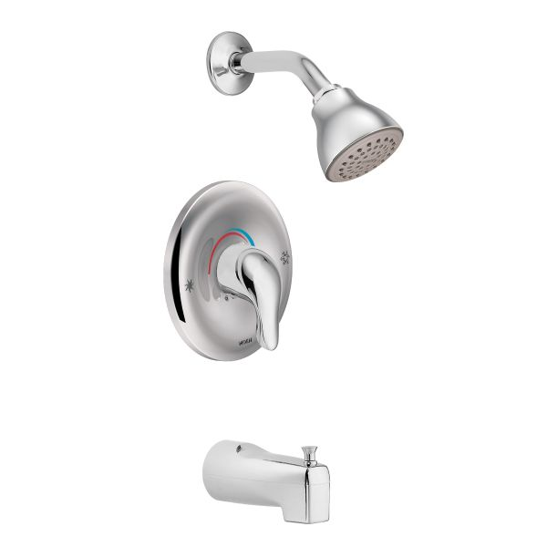 Moen – Chateau, Showerhead and Tub Spout with Posi-Temp®