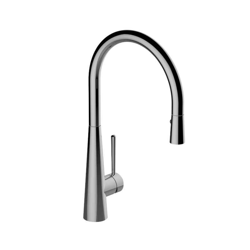 Graff G-4880-LM52-PC – Conical Pull-Down Kitchen Faucet