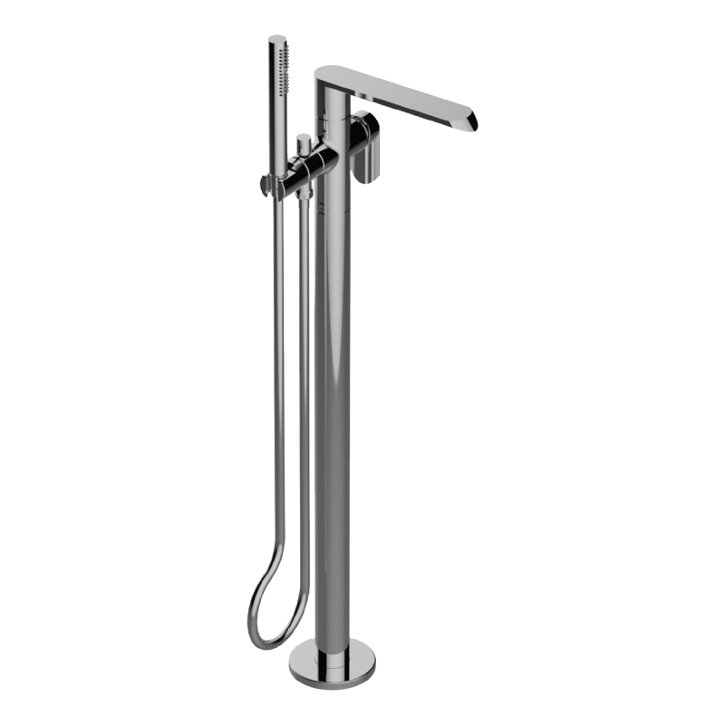 Graff – Phase Floor-Mounted Tub Filler – Rough and Trim