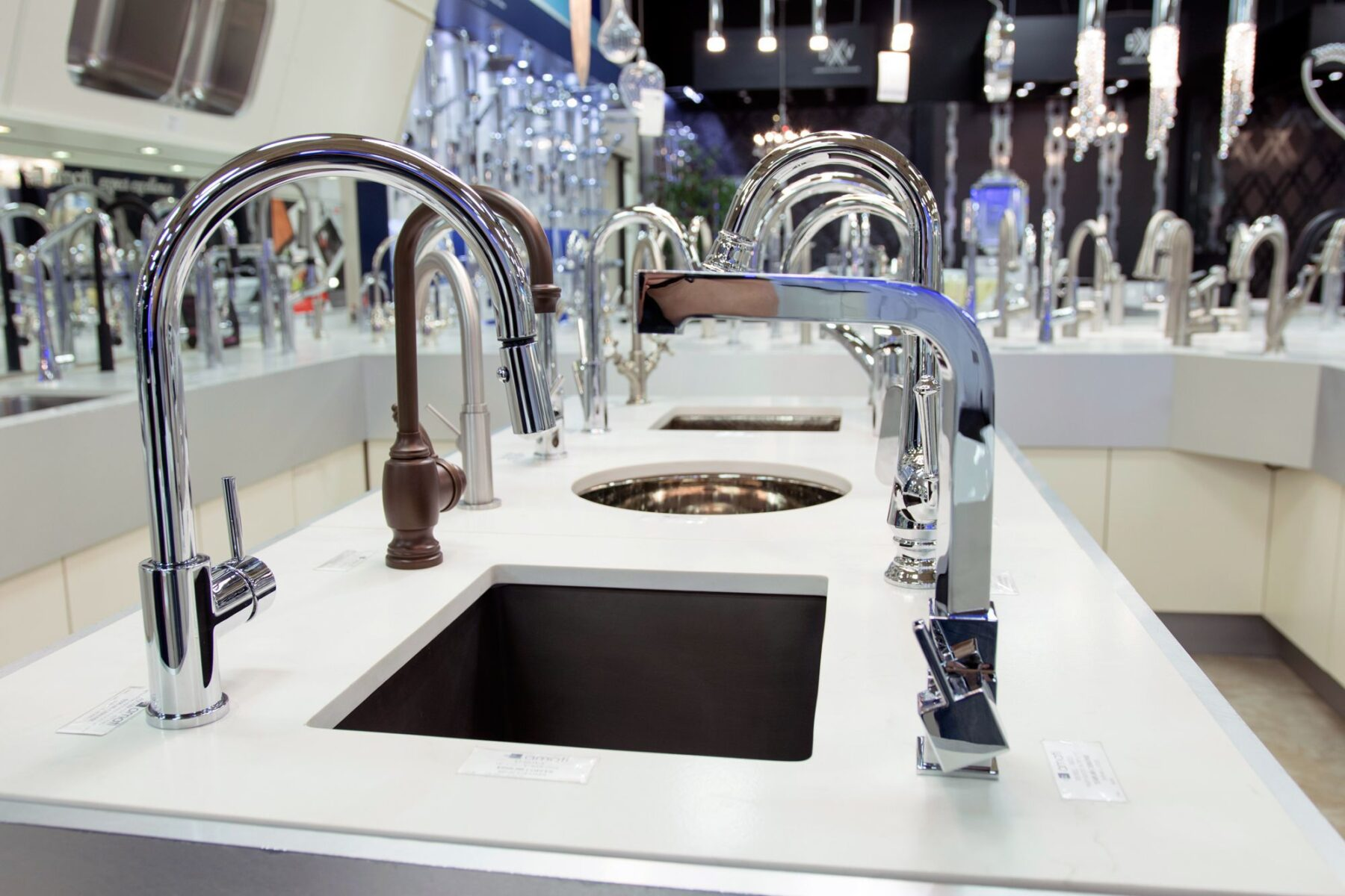 Photo of Bunch of sinks for showroom