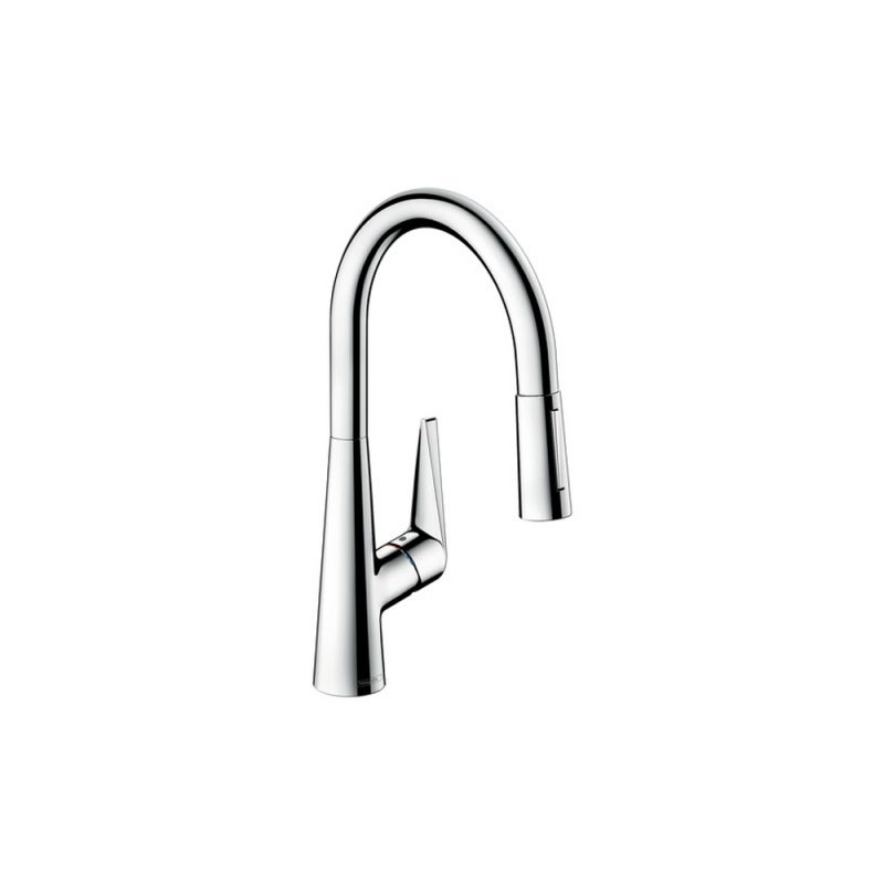 Hansgrohe 72813001- Talis S2 Spray HighArc Kitchen Faucet, Pull-Down