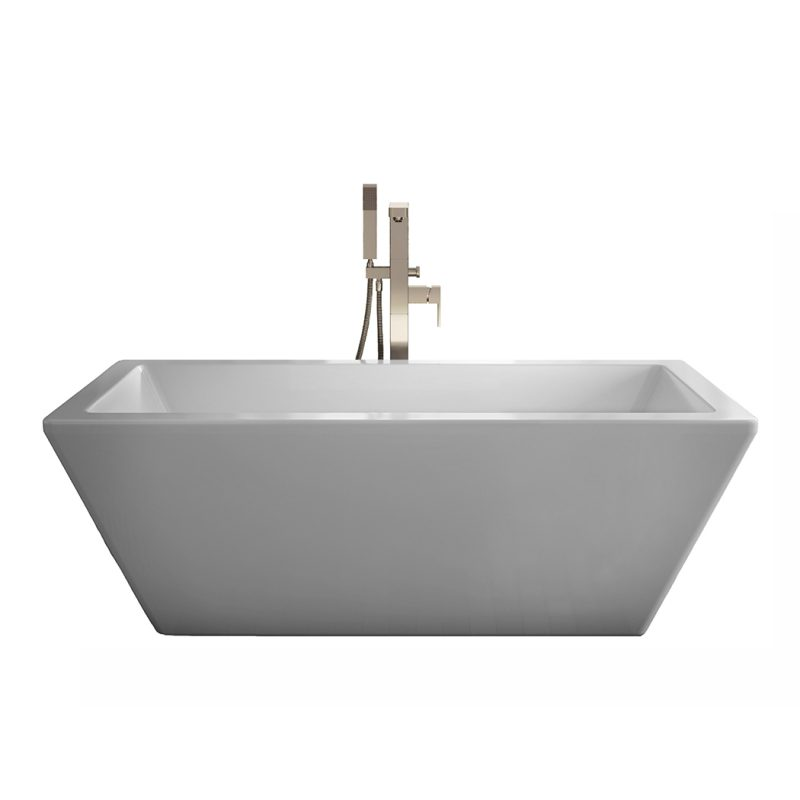 Produits Neptune Amaze AZ3266R – Freestanding Tub, With Chrome Drain