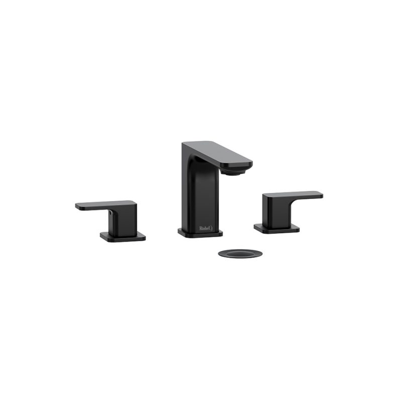 "Riobel EQ08BK – Equinox, 8"" Faucet, in Black"