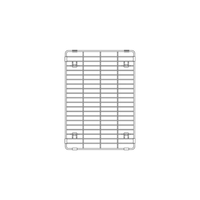 Blanco 406346 – Quatrus R15, Elevated Grid