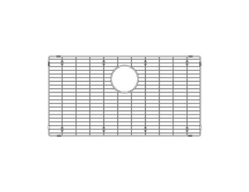 Blanco 406347 – Quatrus R15, Super Single Grid