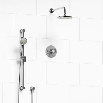 Riobel Kit#323EDTMC - Edge, Shower Kit