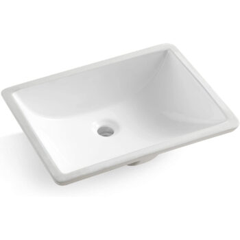 BOSCO-BASIN U/M  20 3/4″X14 3/4″X8 1/8″ -WHITE
