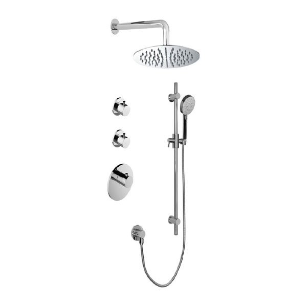 <b>Graff GL3.067SB-RHO-PC</b> – Shower System From M-Series Collection