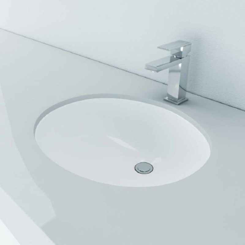 Zendo US1916W - Oval Basin U/M