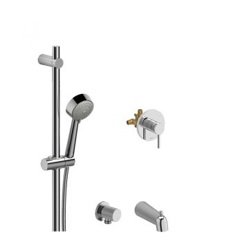 Riobel R71 + P5002C + P775C + P871C + TCO71C – Custom, Dual Shower Kit
