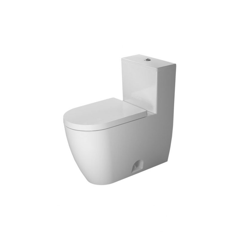 Duravit 2173010001 – Rimless, One-Piece Toilet