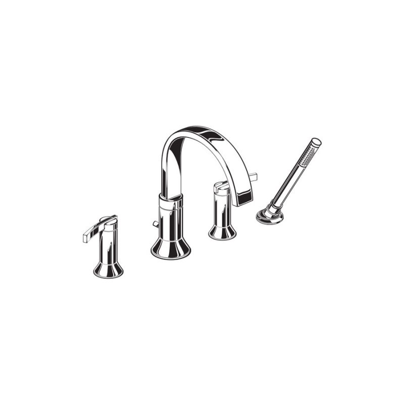 American Standard 7431901.002 - Boulevard, Deck Mount Tub Filler (Showroom Display)