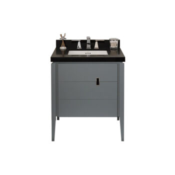"Ronbow Zoe – 30"" Vanity + black Stone Top (showroom Display)"