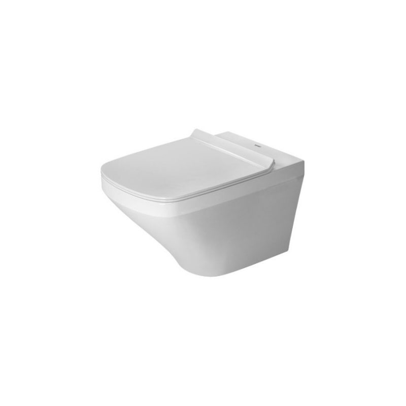 Duravit 2551090092 - DuraStyle, wall-mounted, Duravit Rimless with Soft closing Seat