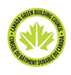 Logo of green building