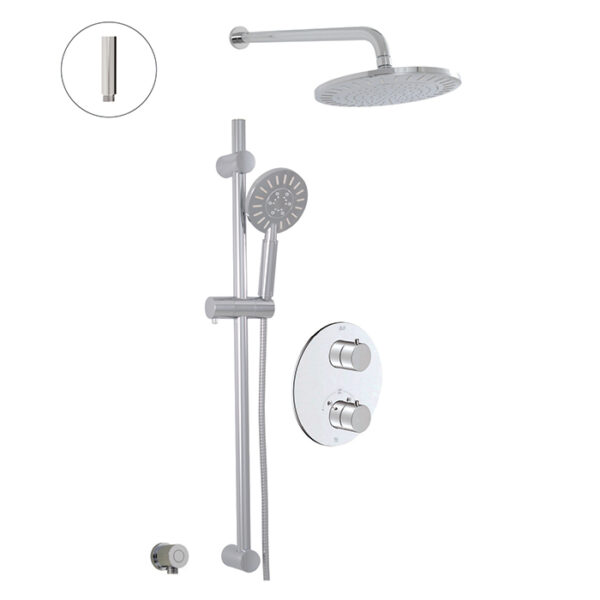 Alt 91482 - Circo, Thermostatic Shower System In Chrome