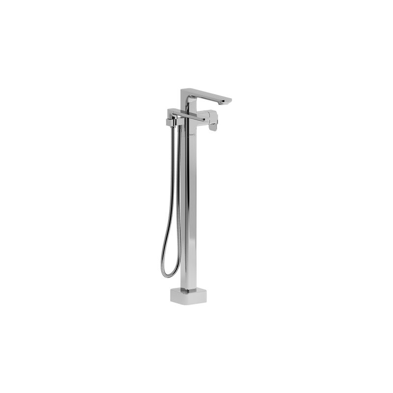 Riobel EQ39 – Equinox, 2-Way (Thermostatic) Floor-Mount Tub Filler with Hand Shower