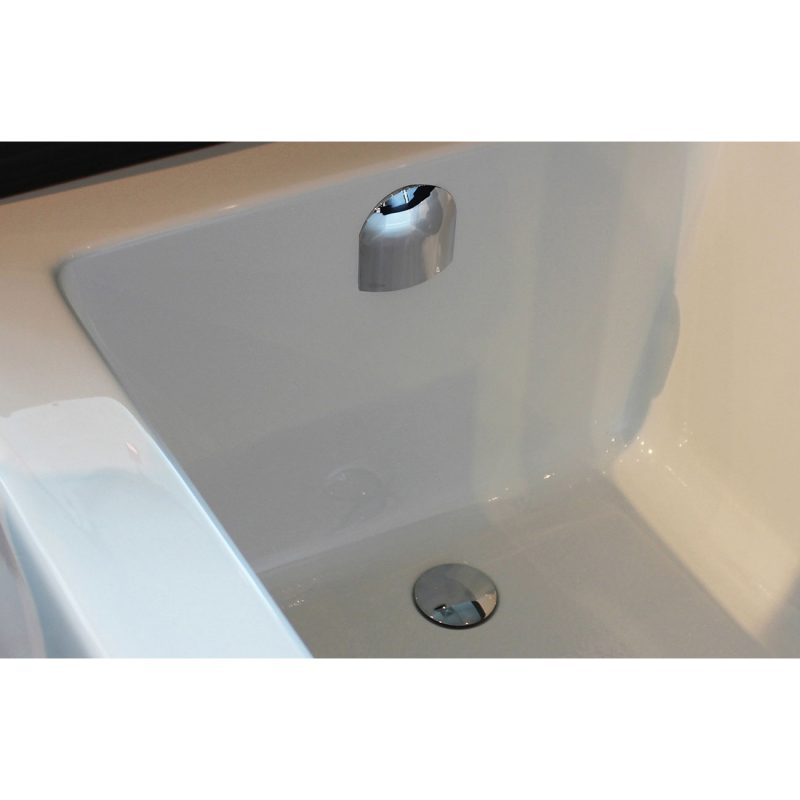 OS&B Bath URTKCLQ-MBL – Tub Drain Trim Kit, Matte Black