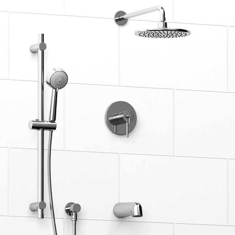 Riobel NJ595 – Assembly, 3 Way Shower System