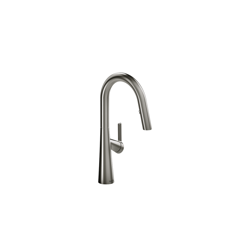 Riobel LK101 – Ludik, Faucet With Spray, in Black, Brushed Gold, Stainless Steel and Chrome.