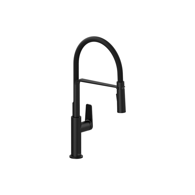 Riobel MY101 – Mythic, Faucet With Spray, in Chrome, Stainless Steel and Black.